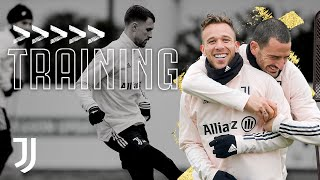 💪? Friday Training for the Supercup Champions! | Juventus Training