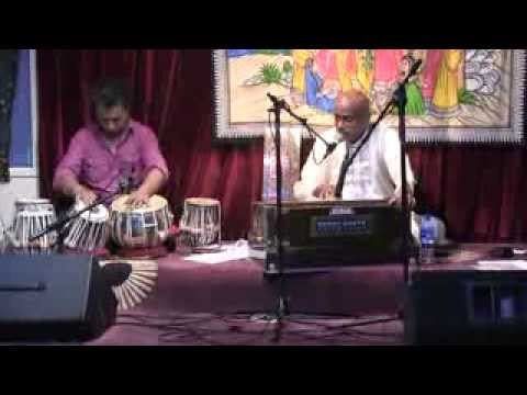 Dr Vijay Prahlad Live Ghazal with Dheeraj Shreshta of Brisbane on Tabla