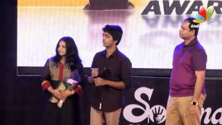 K. Bhagyaraj, Venkat Prabhu, Premji, G. V. Prakash and Simran at Soulmate Awards 2014