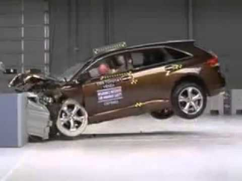 Краш-Тест Тойота Венза 2009