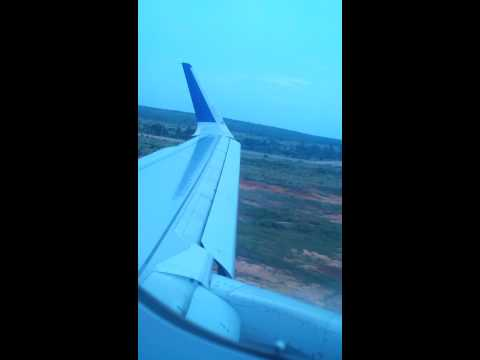Landing in Bangalore international airport