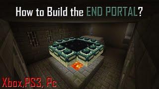 MineCraft Tutorials: How To Build The Ender Portal + Kill