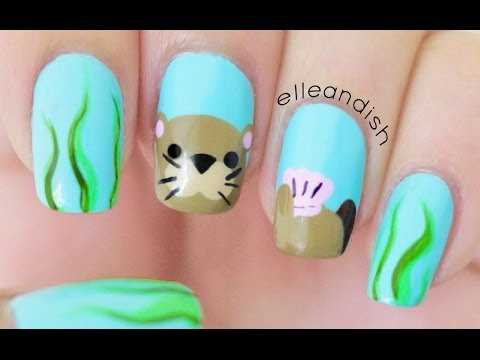 Sea Otter Nails