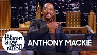 Anthony Mackie's First Time Smoking Weed Got Him Chased by a Moose