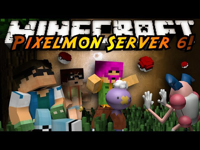 Minecraft Pixelmon Server : ATTACK ON MR MIME!