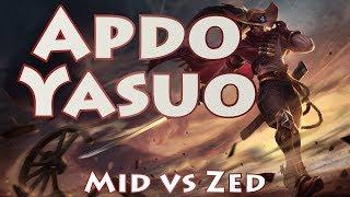 Apdo Yasuo, Mid Vs Zed