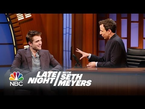 Robert Pattinson's Rap Alter Ego: Big Tub and the Tabbycats - Late Night with Seth Meyers