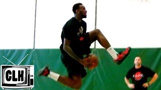 Jakarr Sampson 2014 NBA Draft Workout Big Time Athlete