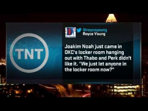 Kendrick Perkins ABUSES Joakim Noah In the Locker Room | December 19, 2013 | NBA 2013-14 Season