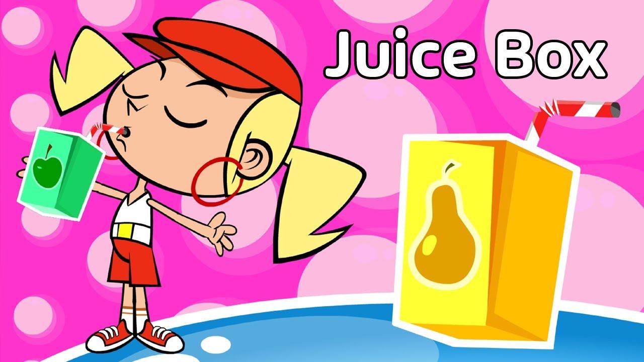 Kids Song Juice Box Funny Children S Music Rap Cartoon