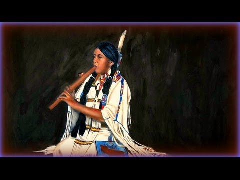 Native American Flute and Water Creek
