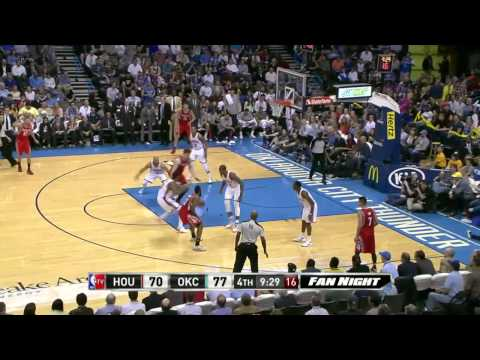 Houston Rockets vs Oklahoma City Thunder | March 11, 2014 | NBA 2013-14 Season