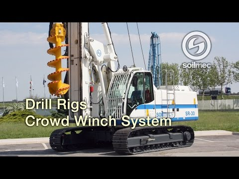 Soilmec SR 30 CWS Large Diameter Piles [Crowd Winch System]