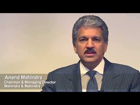 Anand Mahindra appeals for Road Safety