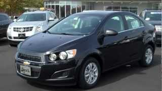 2013 Chevrolet Sonic LT Turbo Sedan, Burns Chevrolet, Rock