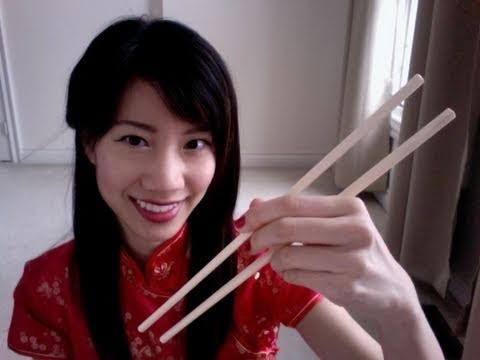 How to Hold Chopsticks (Happy Chinese/Lunar New Year!),