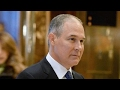 Will Trumps EPA head be able to lead agency?
