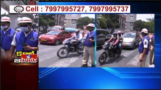 Traffic Police Gets Special Cool Jackets To Beat Heat In H..