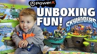 Flynns Ship & Skylands Playset Unboxing Fun! Toys R Us