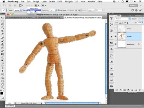 Adobe Photoshop CS5: Puppet Warp Sneak Peek