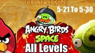 Angry Birds Space Red Planet All Levels 3 Stars