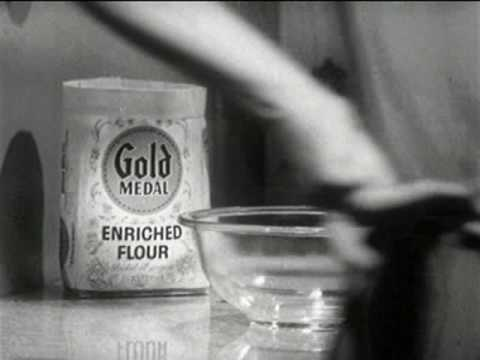 Gold Medal Flour Commercial (1962)