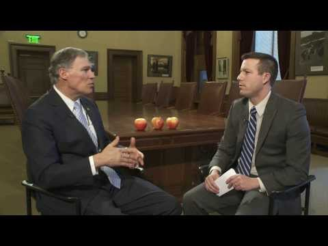 Rep. Hawkins interviews Gov. Jay Inslee: Feb. 17, 2014