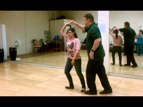 Bakersfield Salsa Classes, Natalie Gonzalez & Jerry Cusick 2/12/12