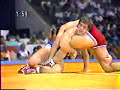 Mark Schultz vs Hideyuki Nagashima of Japan in 1984 Olympics