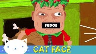 Weebl's Stuff: Cat Face Ep: 35 a Catsmas Carol