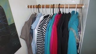 Como ganar espacio en tu closet