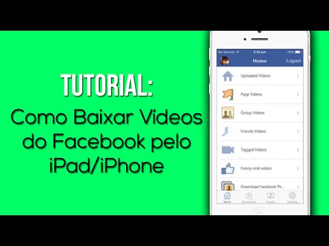 Tutorial: Como Baixar Vídeos do Facebook pelo seu iPad/iPod/iPhone