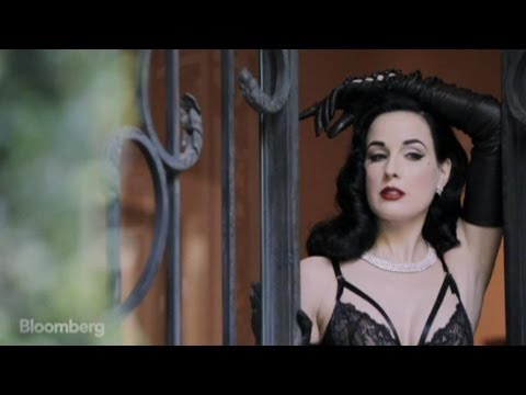 Burlesque Star Dita Von Teese on Life and Lingerie