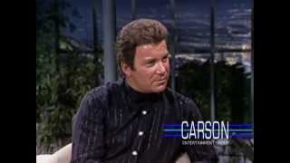 Johnny Carson: William Shatner on Star Trek & T.J. Hooker, 1982