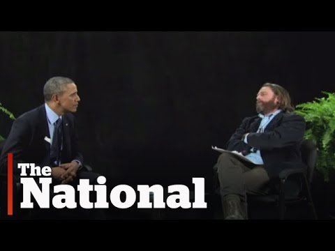 Barack Obama on Zach Galifianakis' Between Two Ferns