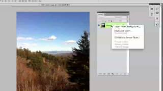 Photoshop Tutorial How To Unlock A Layer (Beginners