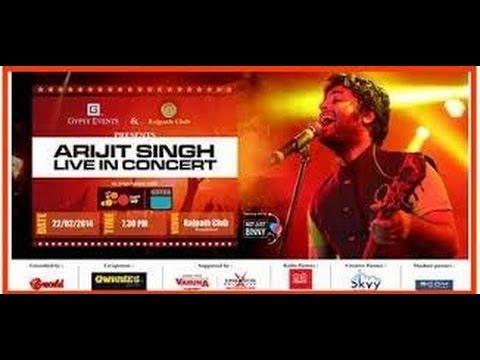 Arijit Singh Live Concert At Ahmedabad 22/02/2014
