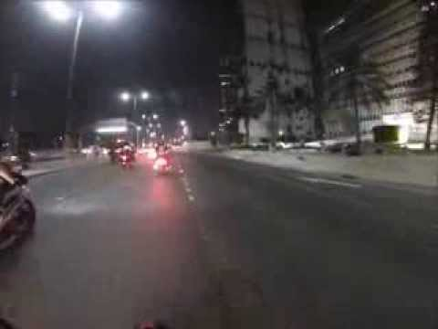 Abu Dhabi International MotorBike Show 2013 - MC  Ride Part 1 (un cut)