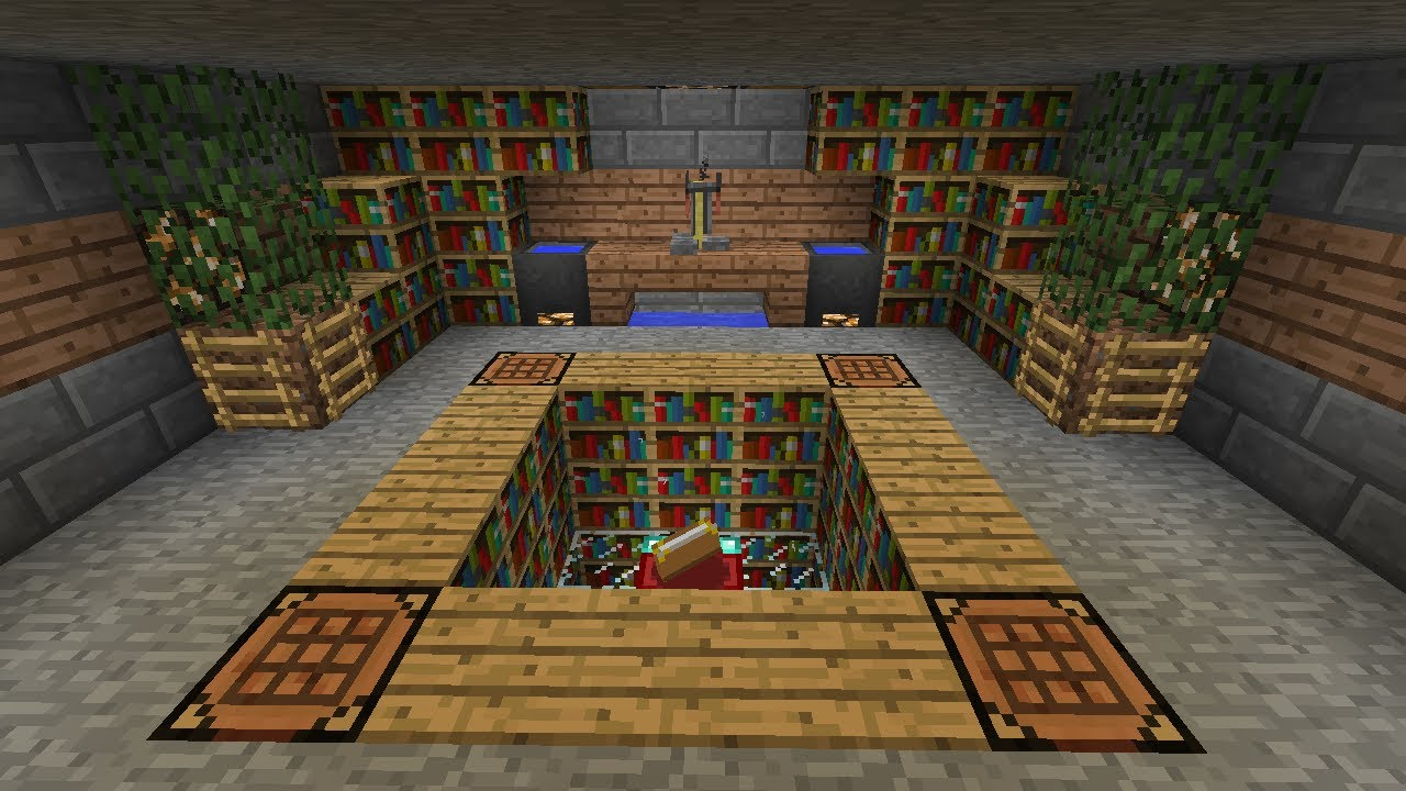 Best Room For Enchanting Minecraft