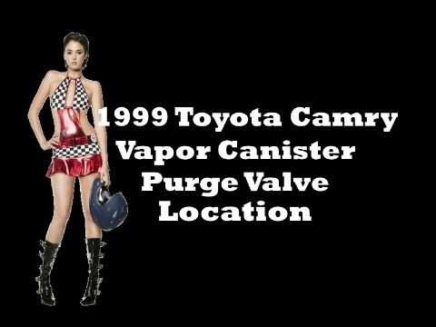 1999       Toyota       Camry    Vapor Canister Purge Valve Location  YouTube
