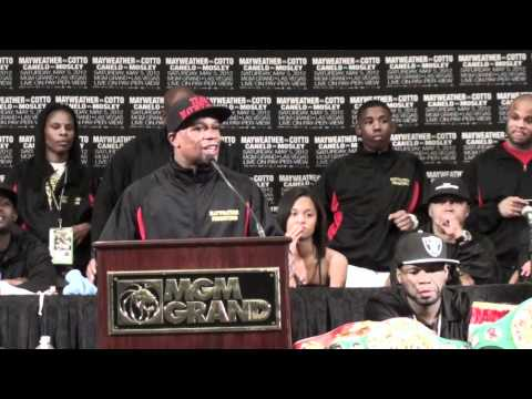 Floyd Mayweather vs. Miguel Cotto Post Fight Press Conference @ FightFan.com