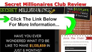 The Secret Millionaires Club Review Free Automated