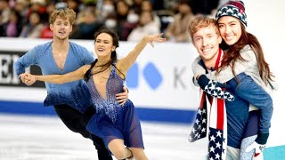 Olympic Ice Dancers Are Partners On and Off the Rink