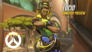Overwatch - Lúcio Gameplay Preview