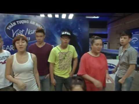 Vietnam Idol 2013 - Hậu trường top 9 tập vũ đạo