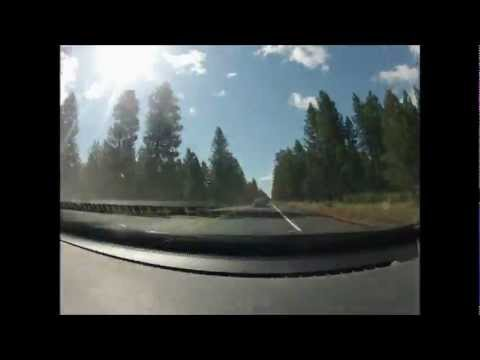 Corvallis to Sunriver Time-Lapse (GoPro Hero2)