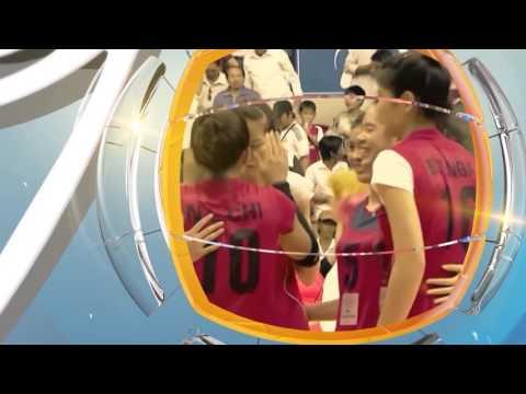 Trailer giải bóng chuyền nữ Quốc tế VTV Cup 2016 panel ống nhựa Hoa Sen