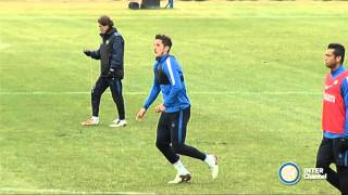ALLENAMENTO INTER REAL AUDIO 07 01 2016