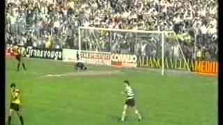 Beira Mar - 0 x Sporting - 1 de 1990/1991