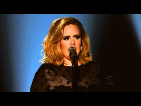 Adele - Rolling In The Deep - Grammy 2012 -4occtUCGkQQ